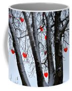 Warm Hearts Color A Tivoli Gardens Coffee Mug by Keenpress