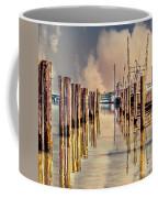 Warm Reflections In The Marina Coffee Mug