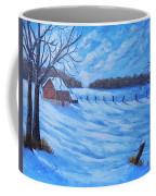 Warm Winter Barn Coffee Mug