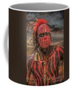 Warpath Shawnee Indian Coffee Mug by Randy Steele