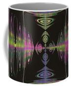 Warping Neon Coffee Mug