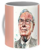 Warren Buffett Portrait Coffee Mug
