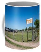 Warrenton Texas Antique Days Park Here Coffee Mug
