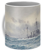 Warrior After The Battle Of Jutland Coffee Mug