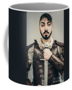 Warrior With Sword Coffee Mug