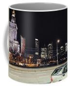 Warsaw At Night Coffee Mug
