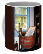 Washboard Coffee Mug by Susan Savad