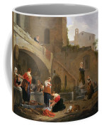Washerwomen By A Roman Fountain Coffee Mug