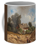 Washerwomen By The River Coffee Mug