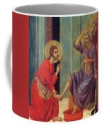 Washing Of Feet Fragment 1311 Coffee Mug