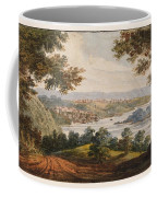 Washington And Georgetown From The Alexandria Road Coffee Mug