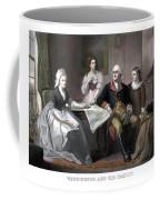 Washington And His Family Coffee Mug