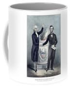 Washington And Lincoln Coffee Mug