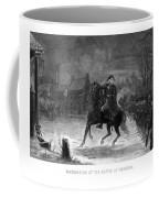 Washington At The Battle Of Trenton Coffee Mug