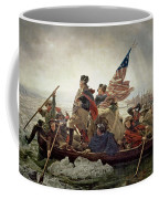 Washington Crossing The Delaware River Coffee Mug by Emanuel Gottlieb Leutze