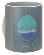 Washington Dc Skyline Minimalism 12 Coffee Mug