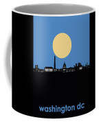Washington Dc Skyline Minimalism 4 Coffee Mug