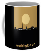 Washington Dc Skyline Minimalism 5 Coffee Mug