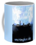 Washington Dc Skyline Minimalism 8 Coffee Mug