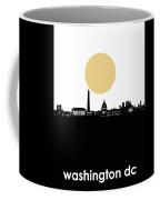 Washington Dc Skyline Minimalism Coffee Mug