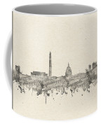 Washington Dc Skyline Music Notes 2 Coffee Mug