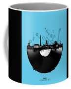 Washington Dc Skyline Vinyl 2 Coffee Mug