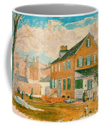Washington D.c. Square 1874 Coffee Mug