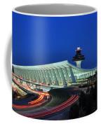 Washington Dulles International Airport At Dusk Coffee Mug