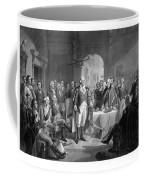 Washington Meeting His Generals Coffee Mug