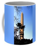 Washington Monument At Dusk Coffee Mug