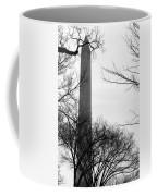 Washington Monument Bw Coffee Mug