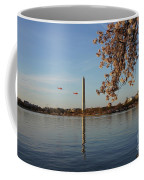 Washington Monument Coffee Mug by Megan Cohen