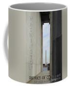 Washington Monuments Travel Coffee Mug