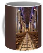 Washington National Cathedral Interior Coffee Mug