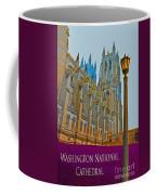 Washington National Cathedral Travel Coffee Mug