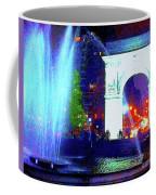 Washington Square Fountain 13c Coffee Mug