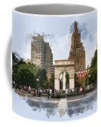 Washington Square Park Greenwich Village New York City Coffee Mug