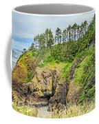 Washington State Coastline Coffee Mug