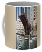 Washington Street Bridge Lift Chicago Coffee Mug