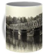 Washington's Crossing Bridge On A Rainy Day Coffee Mug