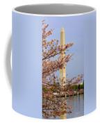 Washinton Monument In Spring Coffee Mug