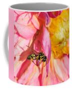 Wasp And Flower Coffee Mug