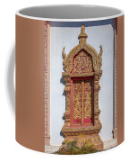 Wat Buppharam Phra Wihan Window Dthcm1582 Coffee Mug