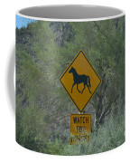 Watch For Horses Coffee Mug