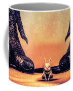 Watch Out Little Bunny Coffee Mug