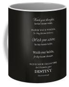 Watch Your Thoughts Coffee Mug