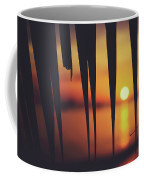 Watching Beautiful Caribbean Sunset From A Simple Beach Shack Coffee Mug