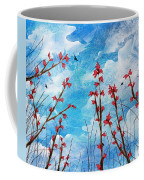 Watching Clouds Go By Coffee Mug