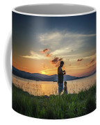 Watching Sunset With Daddy Coffee Mug