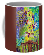 Watching The Bug Byway By Way Of Back Porch Coffee Mug